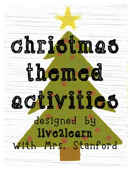 Christmas Activities 65 Pages of Fun