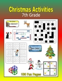 Christmas Activities (7th Grade)