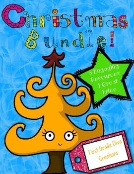 Christmas Activities {A Bundle of 5 Printable Math and Lit