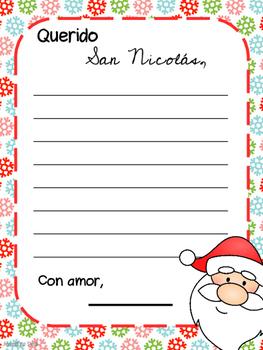 Christmas Activities / Actividades de Navidad