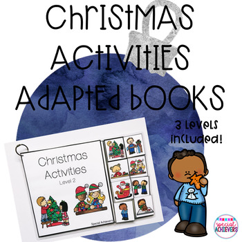 Christmas Activities Adapted Books