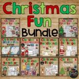 Christmas Activities BUNDLE Games, Bingo, No Prep Worksheets, Craft & More