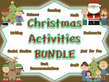 Christmas Activities BUNDLE: Multiple Subject Areas
