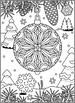 Christmas Activities: Bauble Find the Differences and Coloring Page, CU