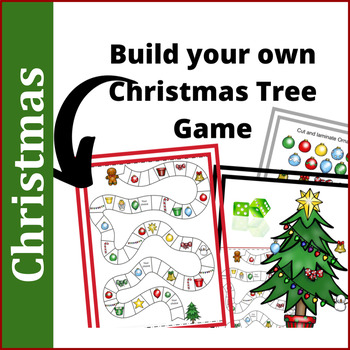 Christmas Activities: Build Your Own Christmas Tree Game