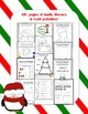 Christmas Math & Literacy Activities