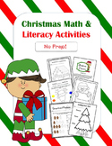 Christmas Math & Literacy Activities