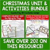 "Christmas Activities Bundle {""Gift of the Magi"" Unit & 12"