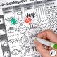 Christmas Activities Bundle: Direct Drawing Game, Art Sub Plan & Writing Prompt