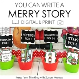 Christmas Activities - Christmas Writing Center: Write a C