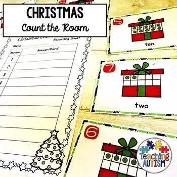 Christmas Activities - Count the Room