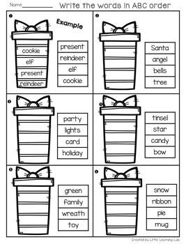 Christmas Activities | Christmas Math | Christmas Worksheets