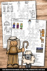 Christmas Crossword Puzzle Religion Education Christian Classroom Activity