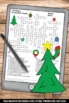 Christmas No Prep Crossword Puzzle Worksheets Secular Vocabulary Activities