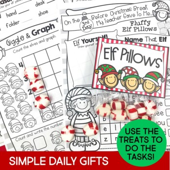 Christmas Activities & Daily Countdown Gifts for First Grade