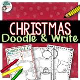 Christmas Activities - Doodle and Write
