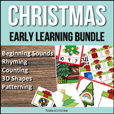 Christmas Activities Early Learning Bundle