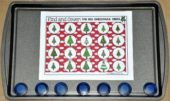 Christmas Activities:  Find and Cover Christmas