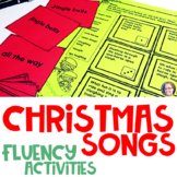 Christmas Song Activities Fluency