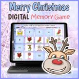 DIGITAL Merry Christmas Memory Matching Card Game