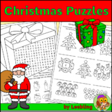 Christmas Puzzle Activities - Crossword, Word Search and More