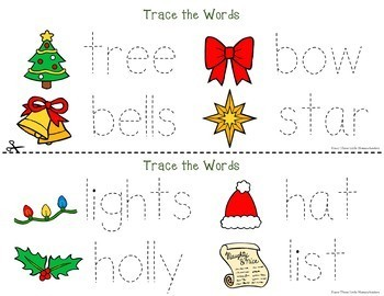 Christmas Activities Games and Centers for PreK and Kinder BIG BUNDLE