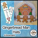 Gingerbread Man Hats for Holiday Activities or Gingerbread