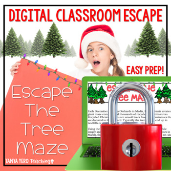 hristmas Activities Google Classroom Christmas Winter Digital Escape Room FUN