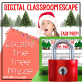 Activities for Christmas Digital Escape Room Math Winter D