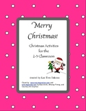 Christmas Activities Grades 2-3