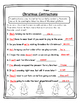 Contractions Christmas English Christmas Activity Christmas 2nd Christmas Second