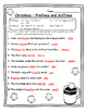 Prefixes and Suffixes Christmas Grammar Christmas Activities Grammar