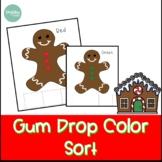 Christmas Activities   Gumdrop Color Sort