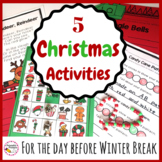 Fun Hands On Christmas Activities