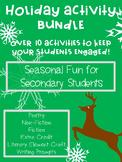 Christmas Activities High School