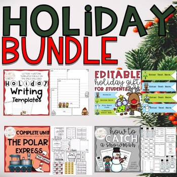 Christmas Activities Holiday Bundle