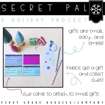 Christmas Activities | Kindness | Gift Exchange | Holiday Activities |Secret Pal