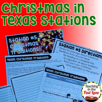 Christmas Activities: Holidays in Texas Stations