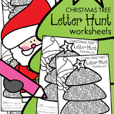 Christmas Activities {Letters of the Alphabet Worksheets}