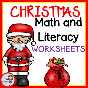 Christmas Activities - Literacy and Math