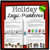 Christmas Activities: Logic Problems