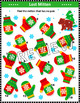 Christmas Activities: Lost Mitten Visual Puzzle, CU