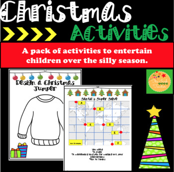 Christmas Activities: Math Activities
