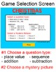 Christmas Activities Mystery Pictures Math Game - Christmas Math