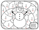 2nd Winter 2nd Math Subtraction Winter Color by Number Win