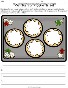 Christmas Activities Middle School & High School {12 Reading Activities}