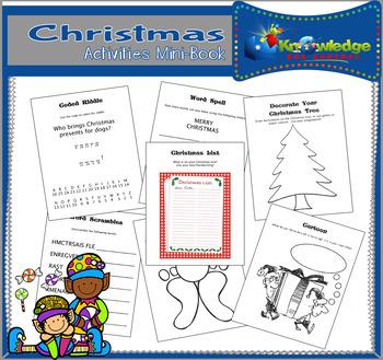 Christmas Activities Mini-Book