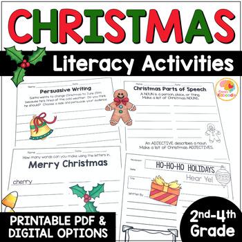 Christmas Worksheets - No Prep Activities