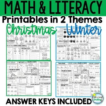 Christmas Activities 2nd Grade:  Christmas Writing