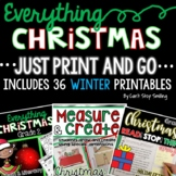 Christmas Activities 2nd Grade:  Christmas Writing